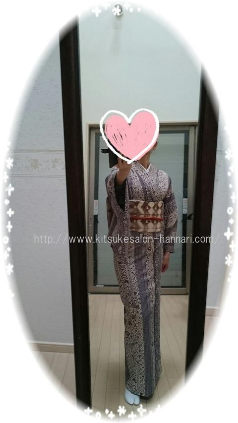 今日の着物スタイル