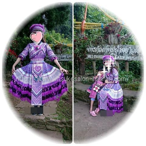 タイチェンマイモン族民族衣装