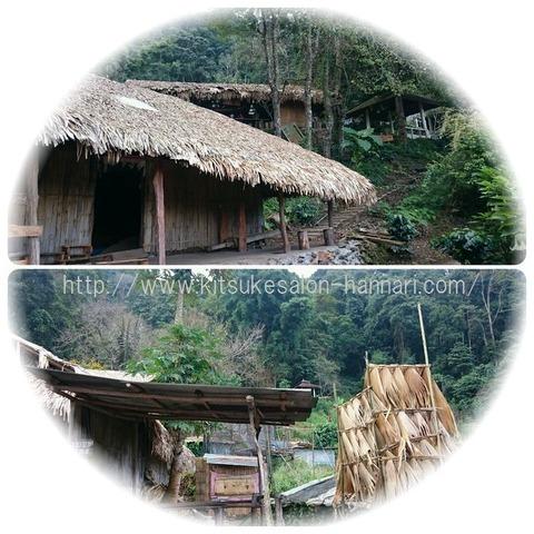 タイチェンマイモン族の家2