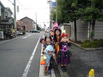 ハロウィン子どもたち