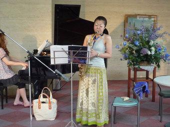 戸田市文化会館でのミニコンサート
