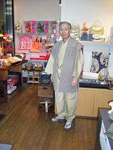 米沢柿渋の陣羽織