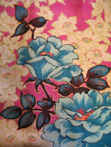 綸子薔薇羽織