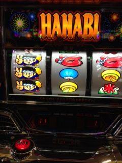【HANABI】ハナビ逆押し赤七狙い【変則押し】