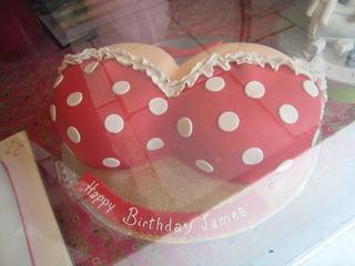 バストのケーキ