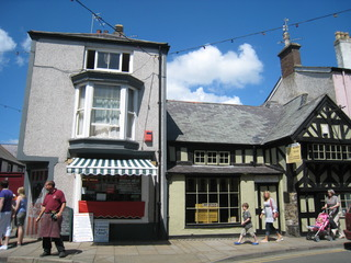 The main street on Anglesey Island
