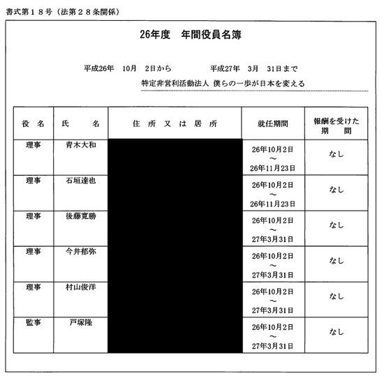 【THANKS】NPO法人僕らの一歩が日本を変える。 …