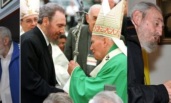 Fidel-Castro-with-the-three-popes-2-690x417