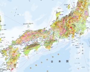 地滑り地形マップ
