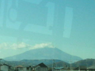 伊勢原の富士