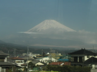 3/18の富士山
