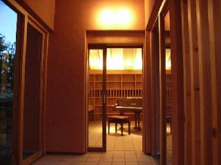 ピアノ室増築
