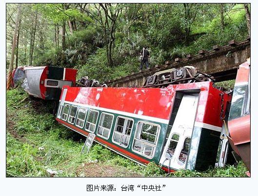 阿里山森林鉄道で脱線・転覆事故...