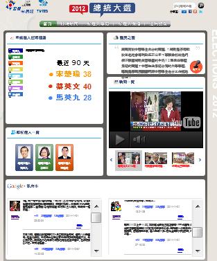 20111102_写真・グーグル台湾総統選