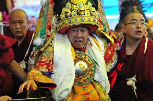 20120112_写真_ダライ・ラマ_チベット_法要_ブッダガヤ_08