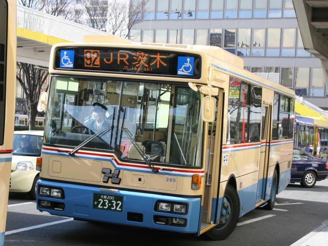 kinbusのうだうだ文字放送局 : 新しい路線に乗る(茨木寝屋川)