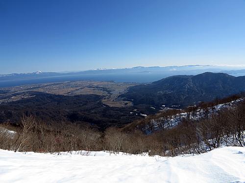 蛇谷ヶ峰から琵琶湖を望む
