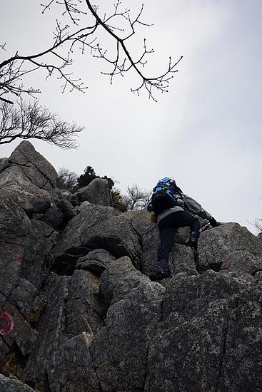 県境稜線縦走路_御在所岩場2