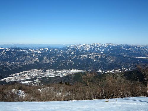 蛇谷ヶ峰から比良山系