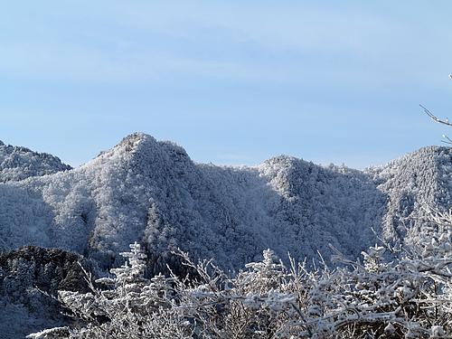 山上ヶ岳登山道からの眺望
