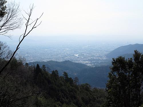 愛宕山中腹からの眺め