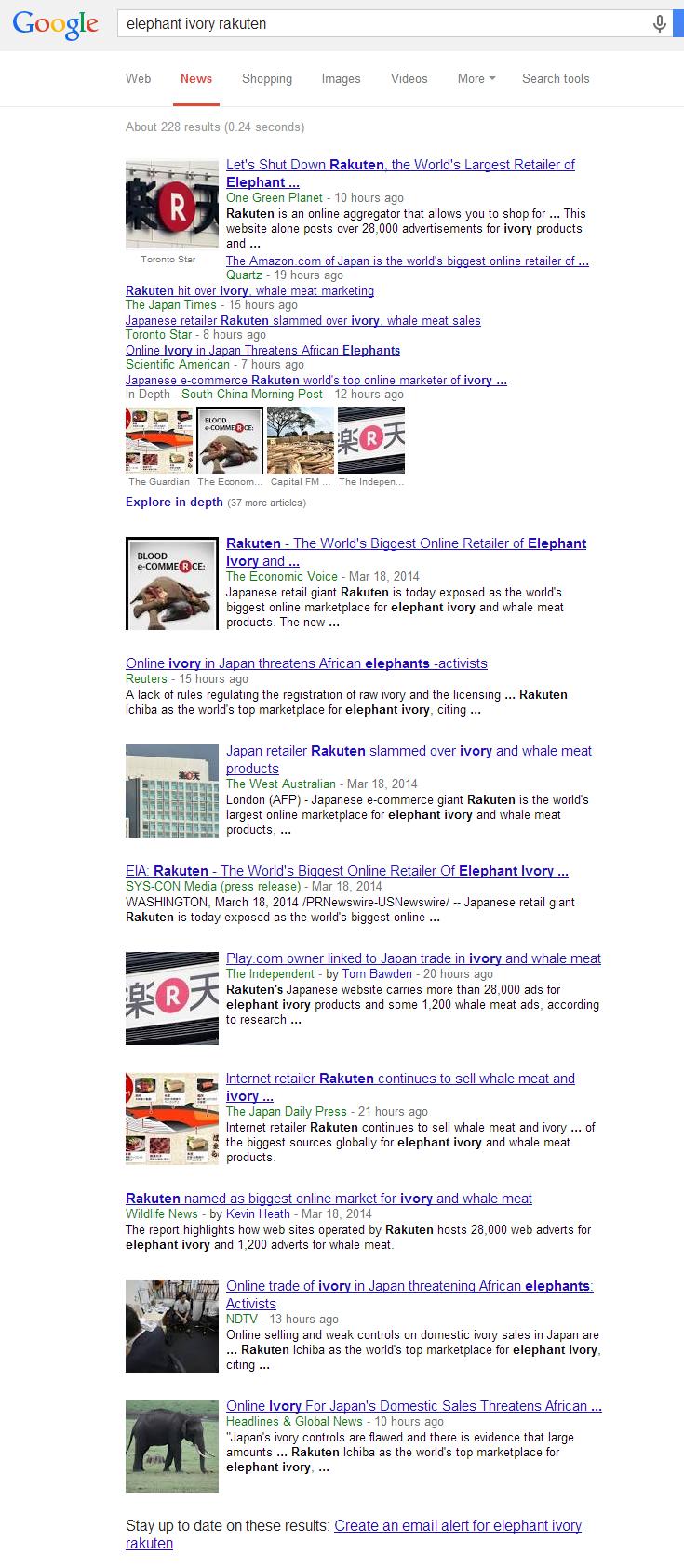elephant ivory rakuten   Google Search