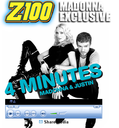 Madonna Exclusive - Z100 - New York's Hit Music Station