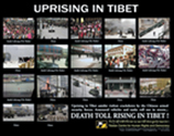 Uprising in Tibet campaign poster