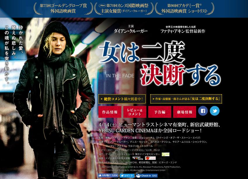 映画『女は二度決断する』公式サイト