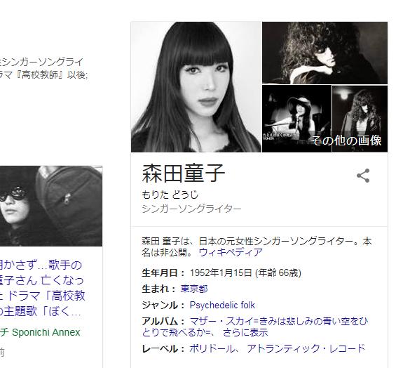 森田童子   Google 検索