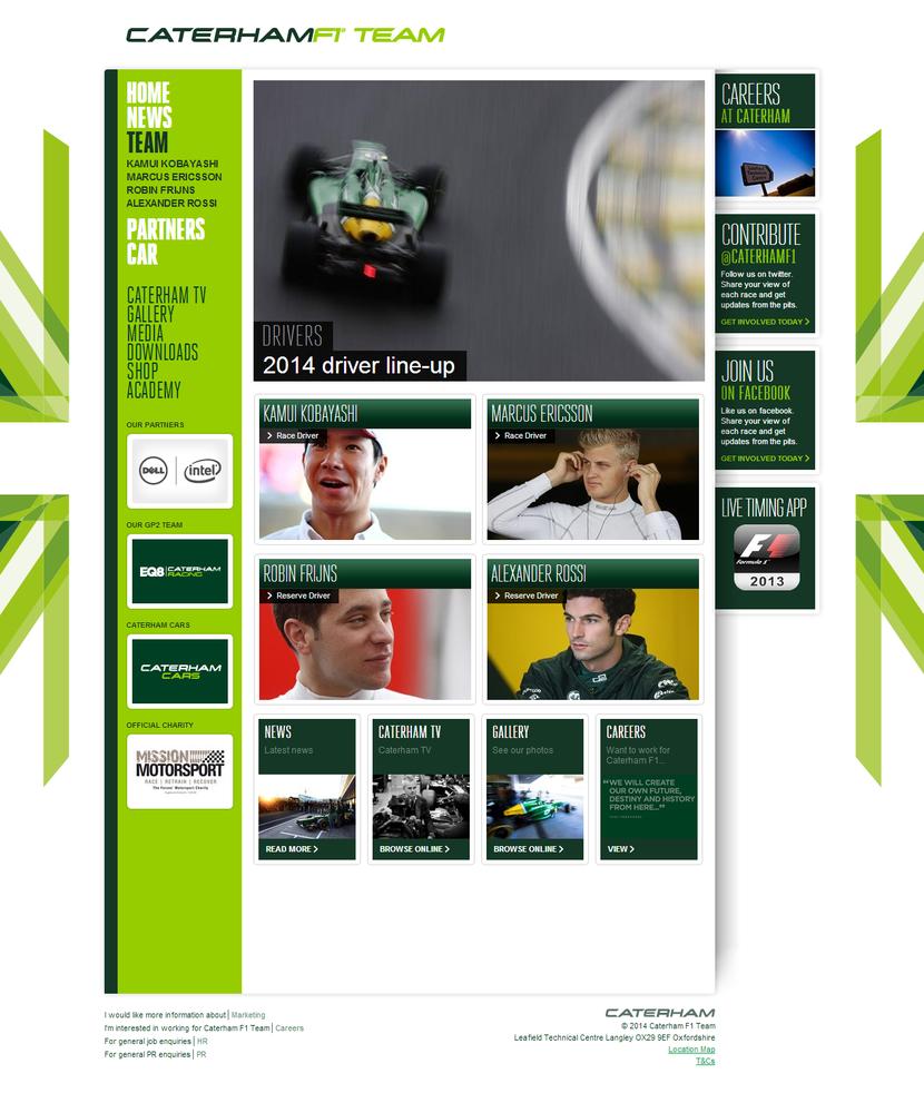 Caterham F1 Team   Drivers