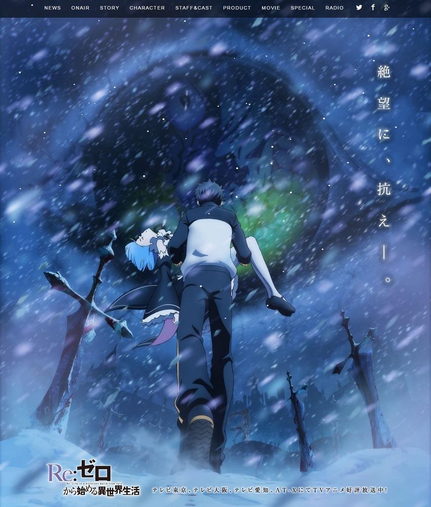 TVアニメ『Re ゼロから始める異世界生活』オフィシャルサイト