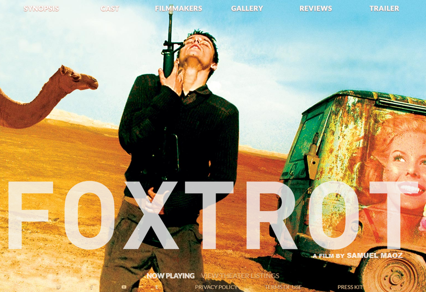 FOXTROT    A Sony Pictures Classic Release