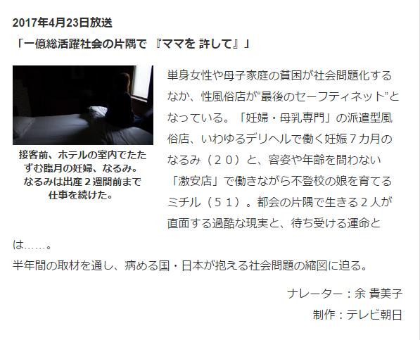 テレビ朝日|テレメンタリー