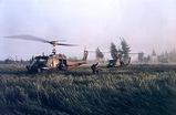 トアン・イェン〔Thuan Yen〕の西部に着地する米軍