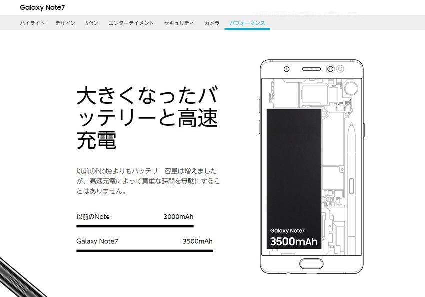 Galaxy Note7:パフォーマンス   スマートフォン   Galaxy