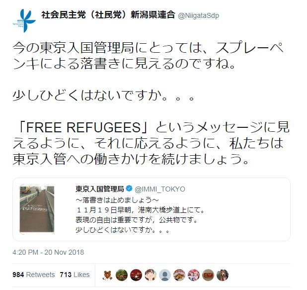 社会民主党(社民党)新潟県連合