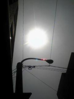 博多駅部分日食1