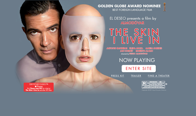 The Skin I Live In - Sony Pictures Classics