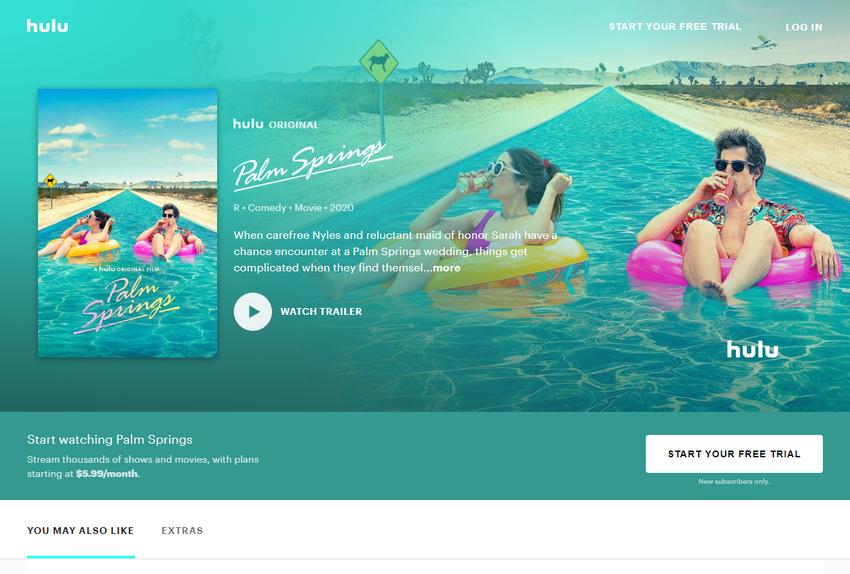 Watch Palm Springs Streaming Online _ Hulu (Free Trial)