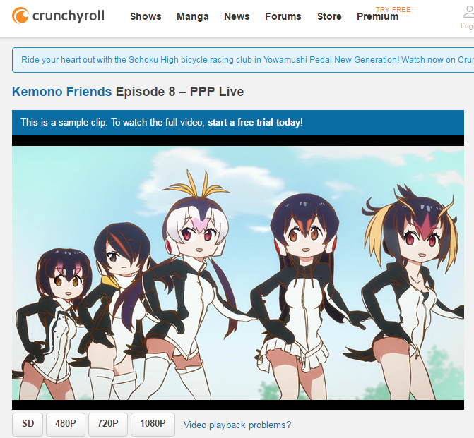 Crunchyroll   Watch Kemono Friends Episode 8   PPP Live