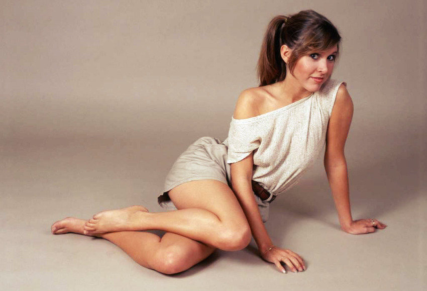 Carrie Fisher al desnudo (14)