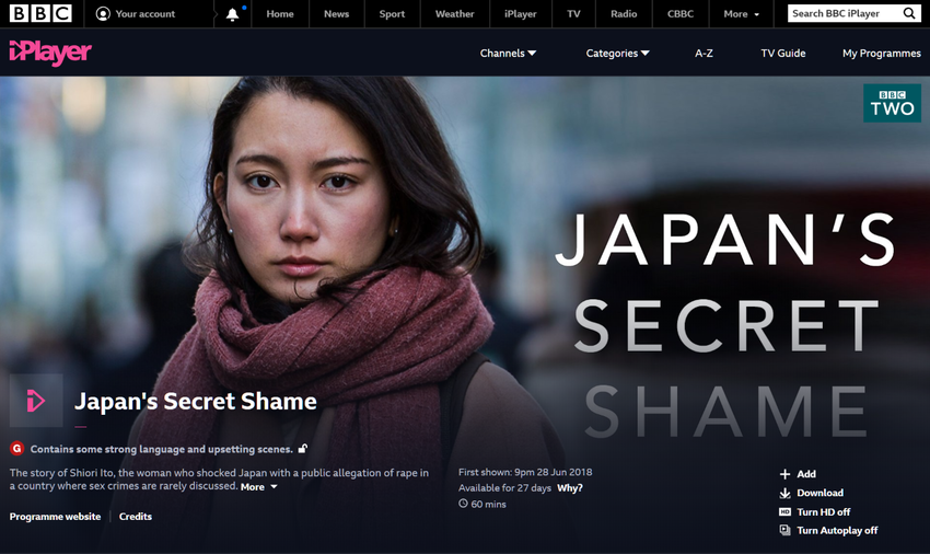 BBC iPlayer - Japan's Secret Shame (1)
