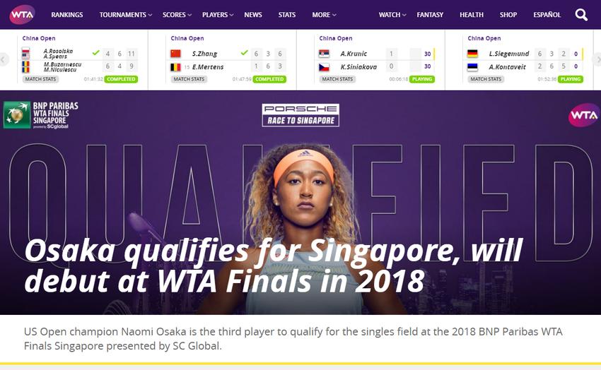 Home   WTA Tennis
