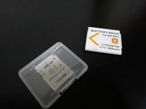 電池とSD