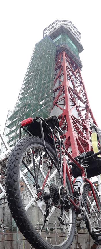 博多ポートタワー自転車