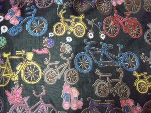自転車リュックアップ