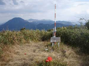 三ノ岳頂上
