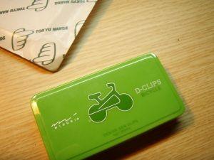 自転車クリップ1