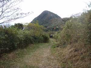 尾根から二ノ岳